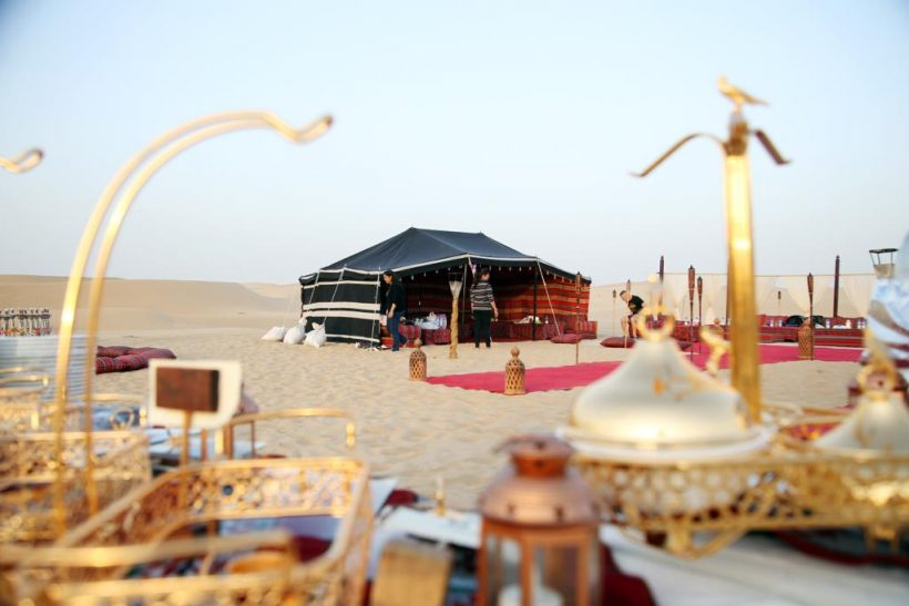 romantic dune dinner (7)