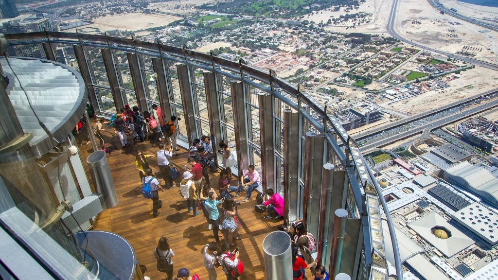 At The Top Burj Khalifa Ticket - DRT Holidays Burj Khalifa From Top Floor