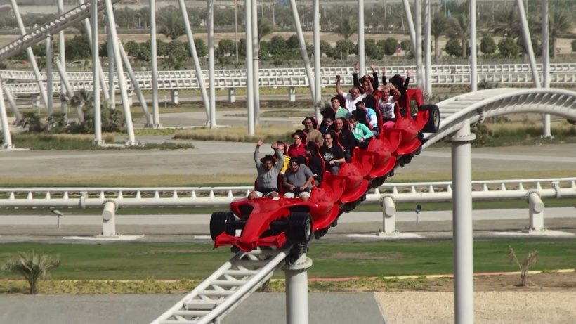 Ferrari World Ticket -2