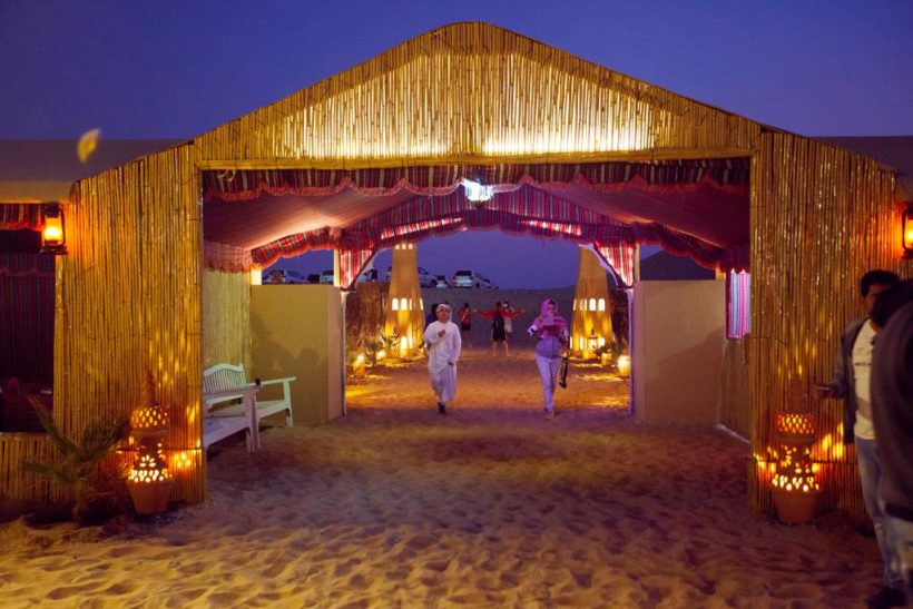 desert camp abu dhabi