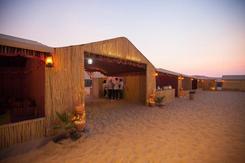 mordern desert camp