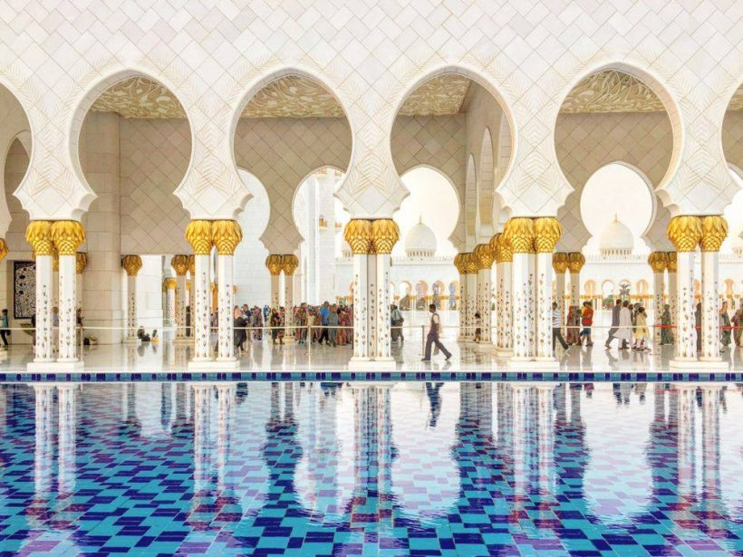 Sheikh Zayed Mosque - abu dhabi stopover packages