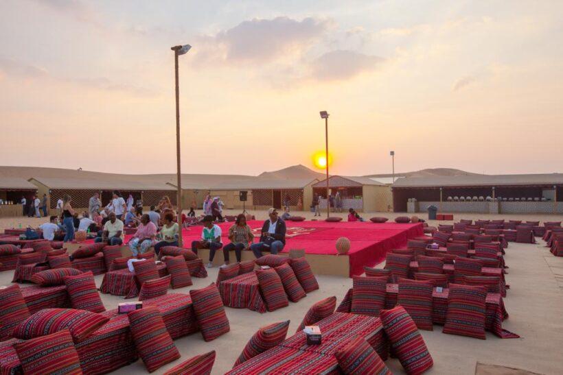 abu dhabi bedouin desert camp